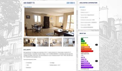 Création de sites internet d'agences immobilières