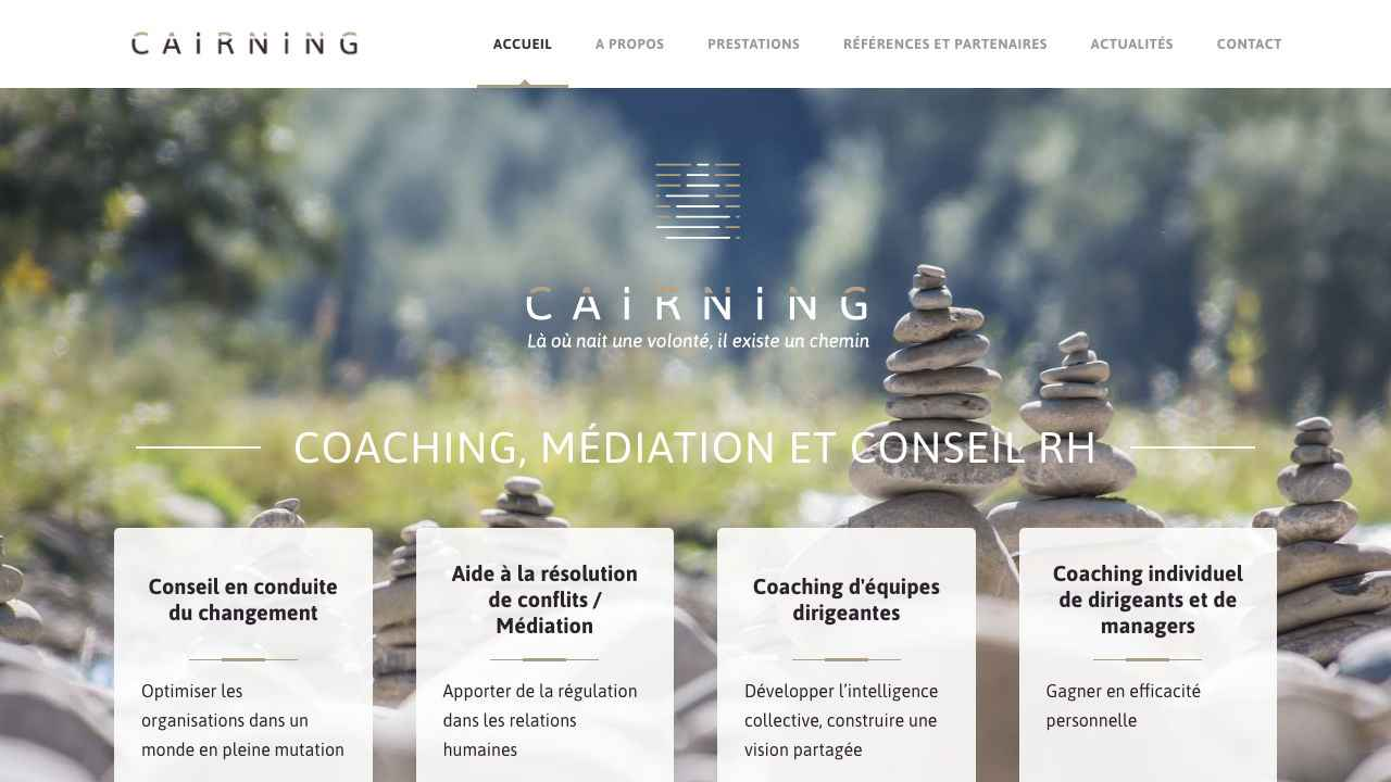 Cairning