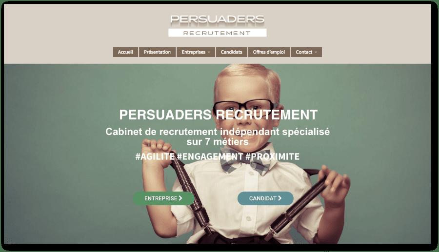 Homepage Persuaders RH