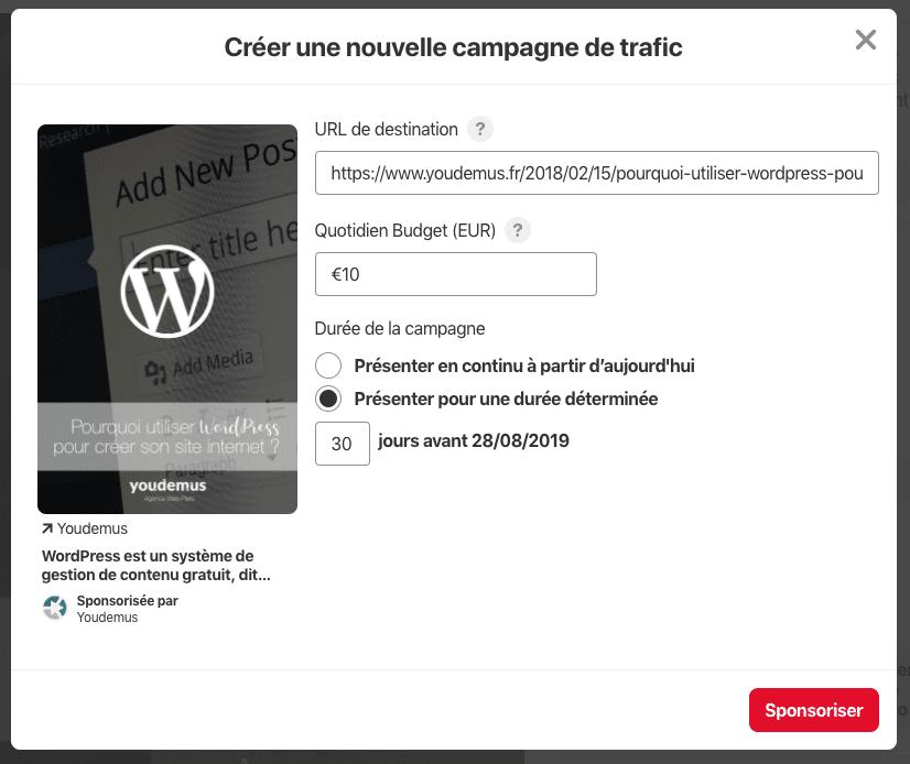 Capture d'écran 2019 07 30 à 17.10.09 - Les entreprises françaises peuvent désormais faire de la publicité sur Pinterest