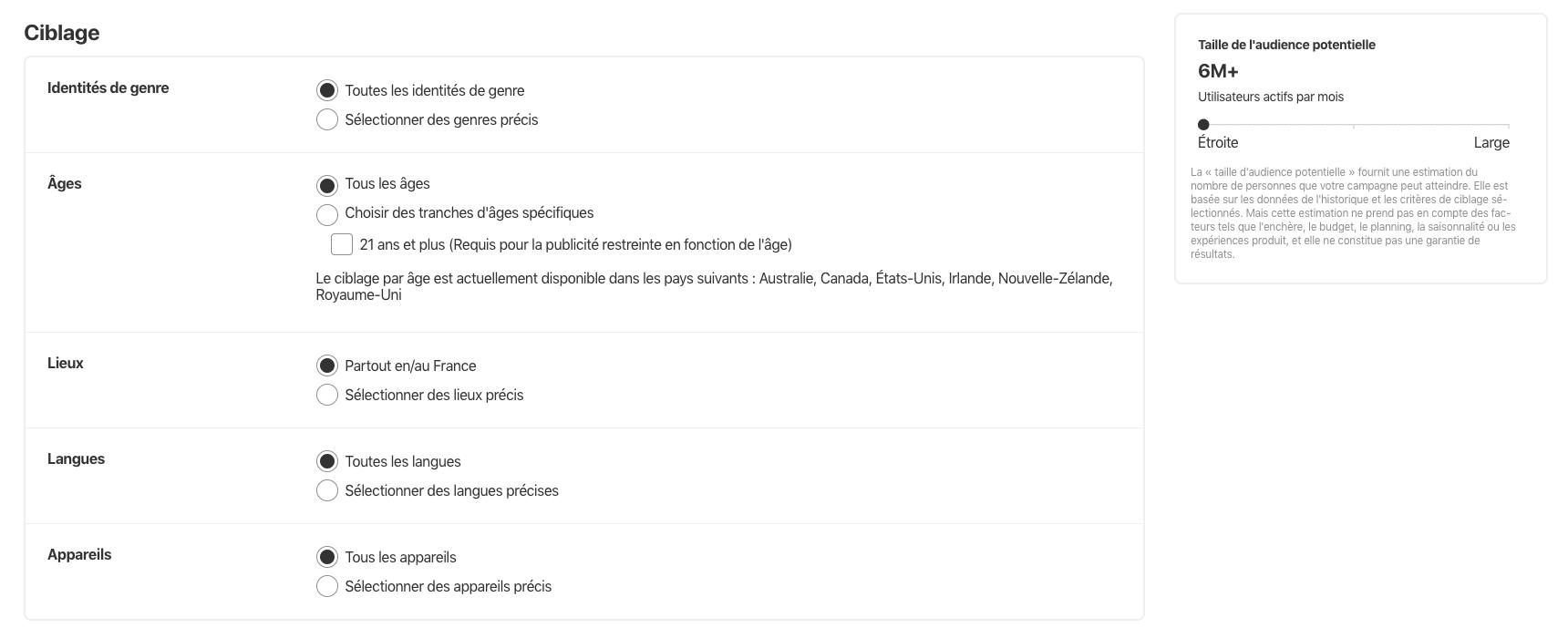 Capture d'écran 2019 07 30 à 17.14.49 1024x410 - Les entreprises françaises peuvent désormais faire de la publicité sur Pinterest