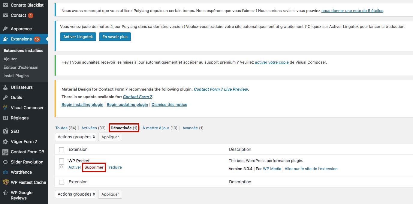 Capture d'écran 2019 09 26 à 16.14.31 1024x506 - Comment accélérer la vitesse de votre interface d'administration WordPress ?