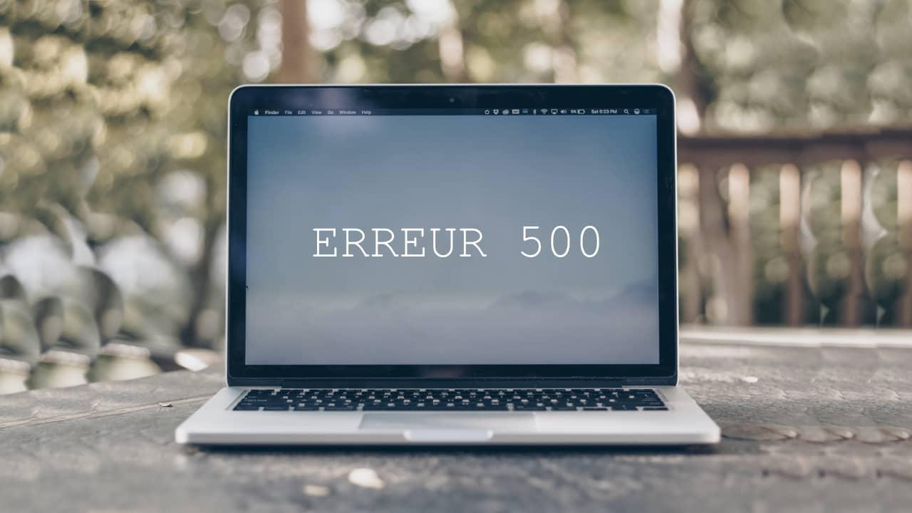 Comment réparer une erreur 500 sur un site WordPress?