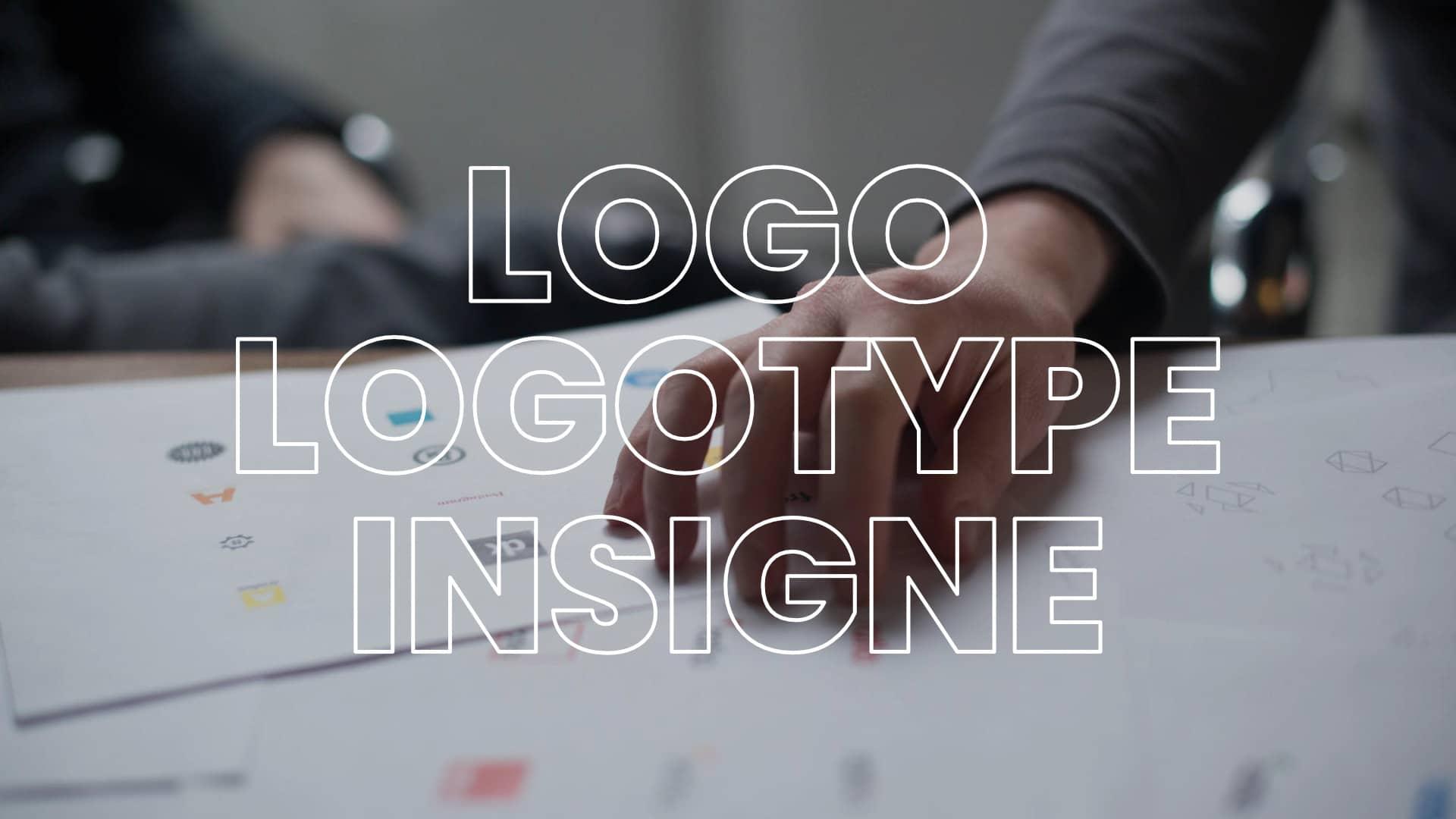 Logo, logotype, insigne : définitions et différences