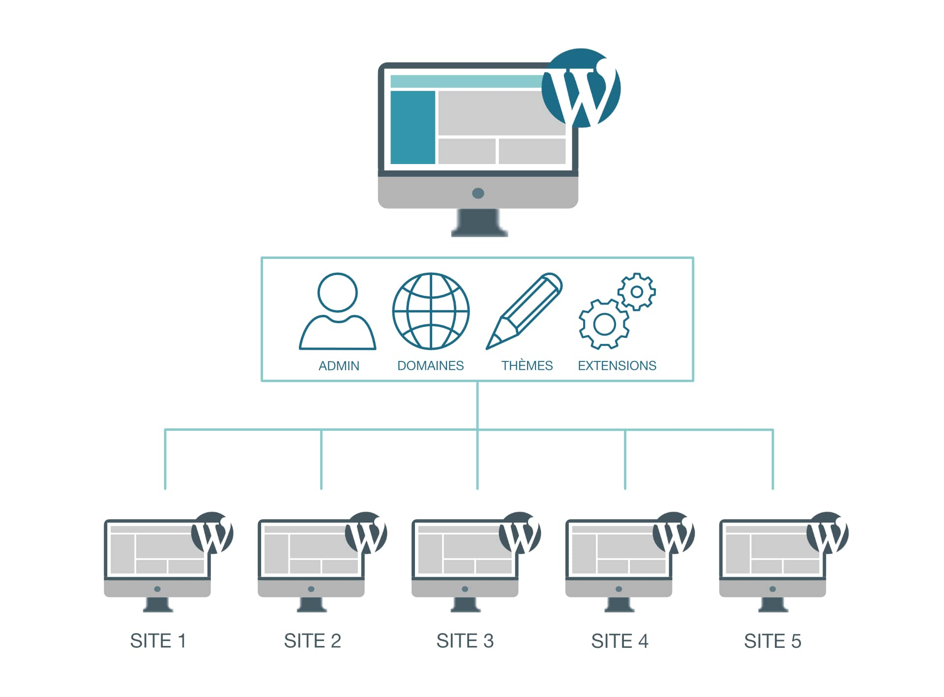 multi site wordpress youdemus 1024x757 - Créer un multisite avec WordPress