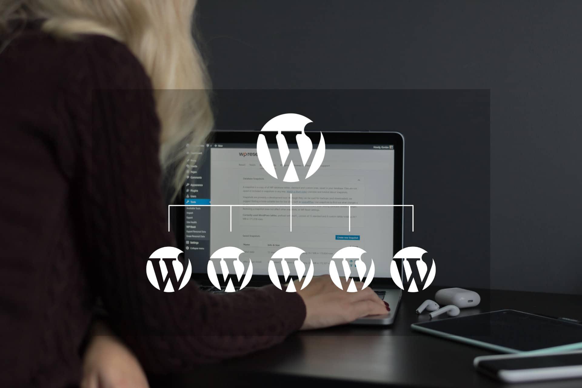 Créer un multisite avec WordPress