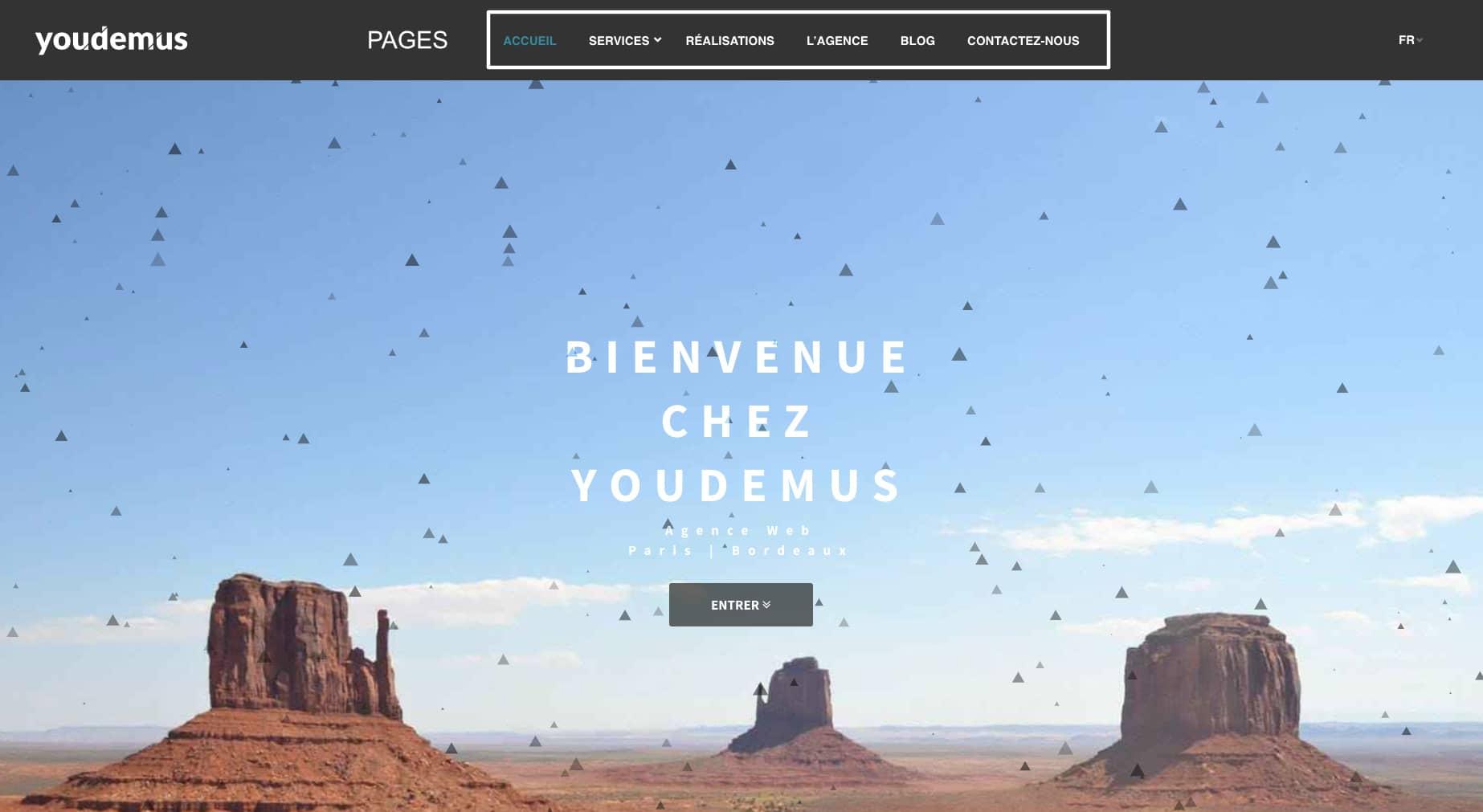 pages youdemus 1024x561 - Quelle est la différence entre un blog et un site web ?