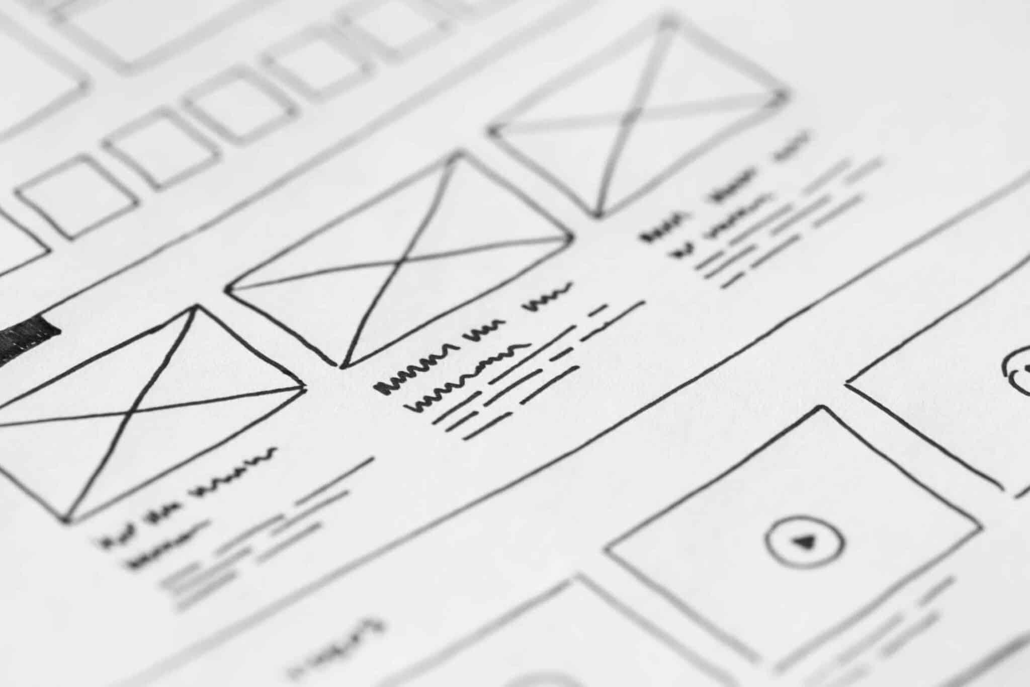 [Dossier] Les grandes étapes de création d'un site internet - Zoning, wireframe et maquettage