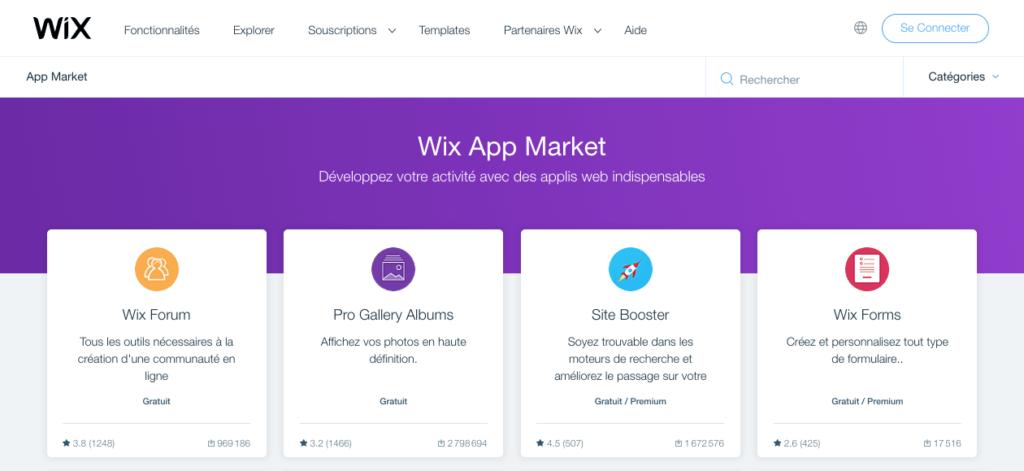 plugin wix 1024x471 1 - WordPress VS. WIX: qui choisir pour créer son site Internet?