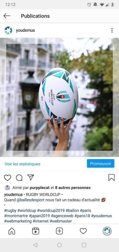 Screenshot 20201026 121215 - Post, Story, Reels, Live et IGTV, tout sur les différents formats de publication sur Instagram
