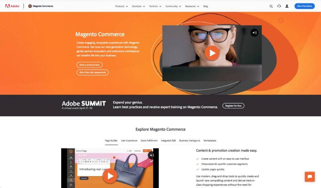 magento 1024x600 - Quelle plateforme choisir pour créer son site e-commerce ?