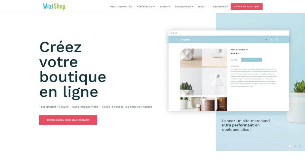 wizishop 1024x546 - Quelle plateforme choisir pour créer son site e-commerce ?