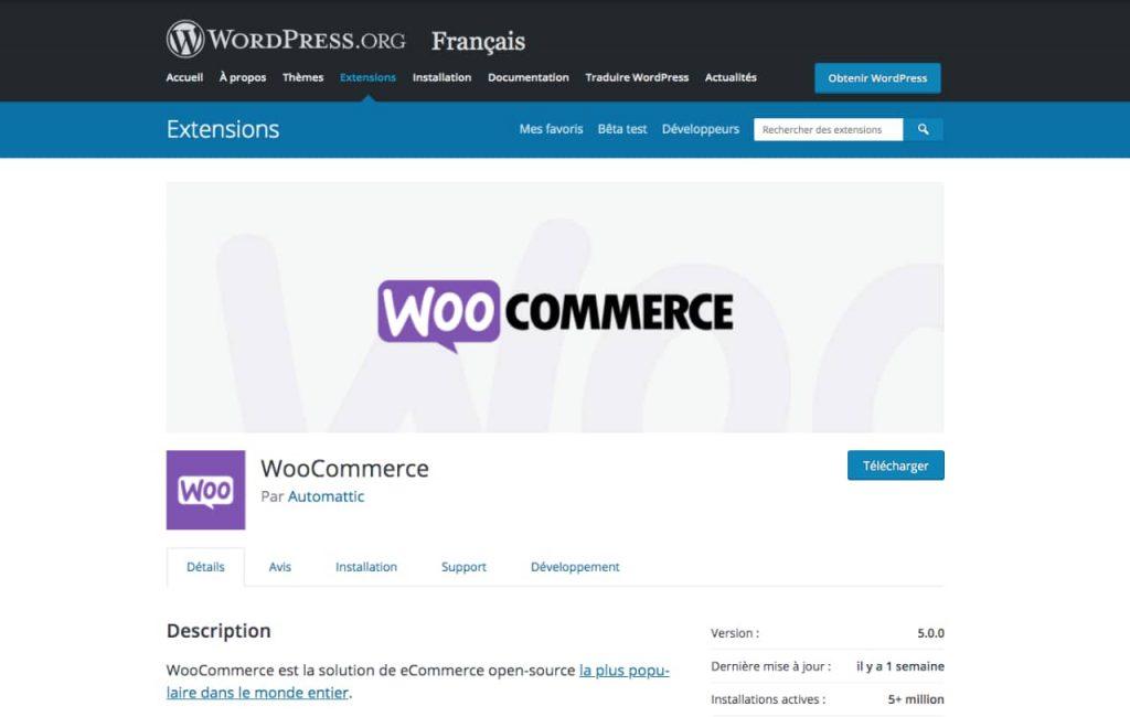 woocommerce 1024x650 - Quelle plateforme choisir pour créer son site e-commerce ?