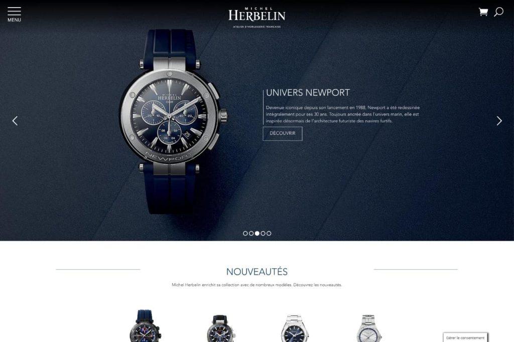 herbelin ecommerce 1024x682 - WordPress c'est aussi pour les gros sites e-commerce