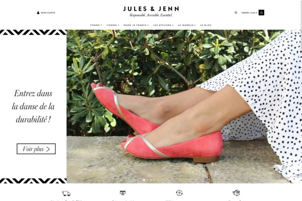 julesjenn ecommerce 1024x682 - WordPress c'est aussi pour les gros sites e-commerce