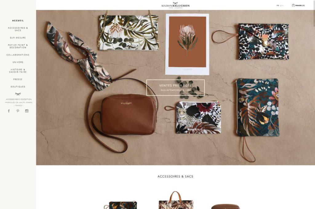 maisonbaluchon ecommerce 1024x682 - WordPress c'est aussi pour les gros sites e-commerce