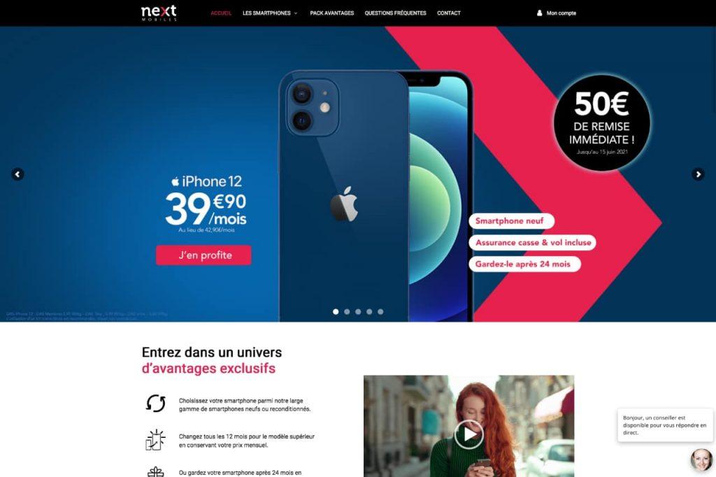 nextmobiles ecommerce 1024x682 - WordPress c'est aussi pour les gros sites e-commerce