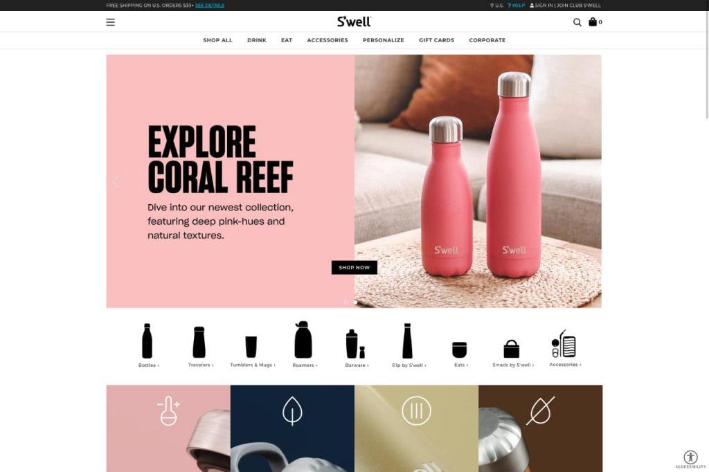 swell ecommerce 1024x682 - WordPress c'est aussi pour les gros sites e-commerce